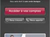 BANQUE PRIVEE EUROPEENNE : Application iPhone, Accès aux comptes