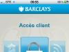 Barclays accueil application bancaire