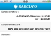 Barclays compte virement