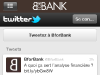 BforBank Application iPhone : Follow Twitter