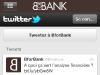 BforBank Application iPhone : Follow Twitter