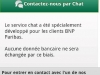 BNP PARIBAS : ANDROID chat