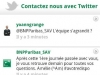 BNP PARIBAS : ANDROID twitter