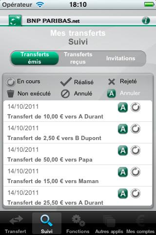 Bnp Paribas Application Mes Transferts Pour Android Et Iphone