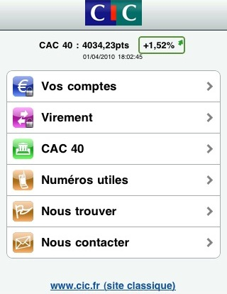 CIC | http://itunes.apple.com/fr/app/cic/id376788484?mt=8