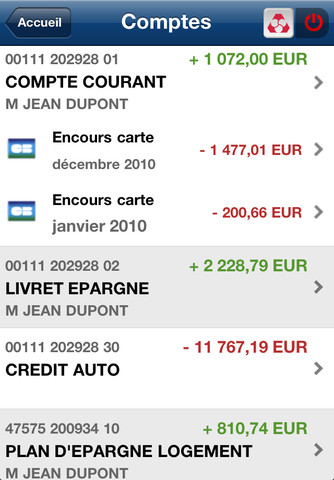 Credit mutuel application iphone cr dit mutuel - Plafond compte courant credit agricole ...