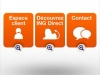 ING Direct | Application Android : accueil