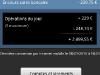 Société Générale sur Android : mes comptes