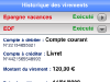 SOCIETE GENERALE - Site Mobile : virement 4