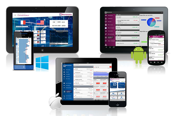 consulter tous vos comptes bancaires dans une application
