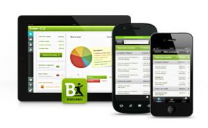 Budget de Fortuneo protège la consultation de vos comptes par un mot de passe (sur Android comme sur iOS).